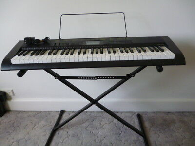 Casio CTK 1100 keyboard with stand and dust cover - Pick up only