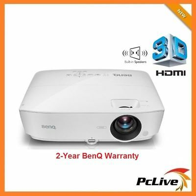 NEW BenQ MS531 DLP Projector 3D HDMI Speaker 15000:1 Home Theater 3300 lumens