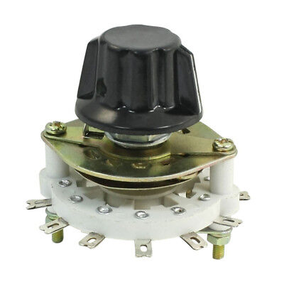 1P6T 1 Pole 6 Throw Rotary Switch Channel Selector for Control Unit J5M6