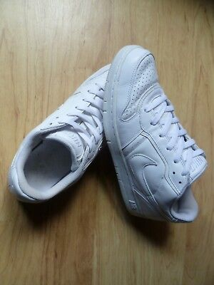 Men's Nike Air Low Casual Shoes White Sneaker US Size 9