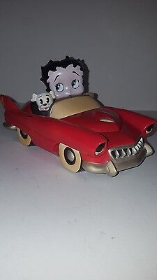 """BETTY BOOP  """"Betty & Pudgy"""" Car box - Vandor 1997 Limited Edition Style#10625"""