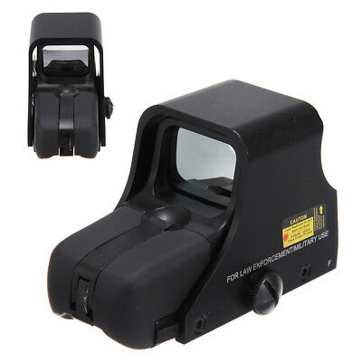 Outdoor 551 Tactical Red Green Dot Airsoft Scope Riflescope Holographic Sight