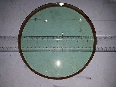 "8"" dia pyrex blank firgured to 1/5 wave convex surface"