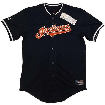 Majestic Athletic Replica Jersey Cleveland Indians - Navy