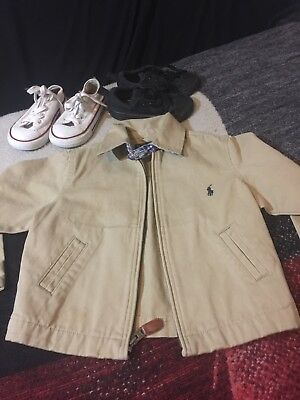 Toddler Jacket And Shoe Lot