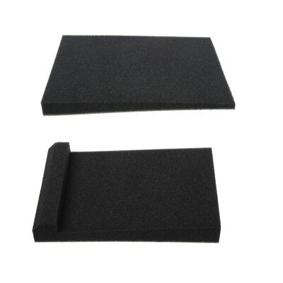 2X Sponge Studio Monitor Speaker Acoustic 30x20x4.5 Isolation Foam Isolator  Pad
