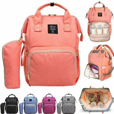 Multifunctional Large Baby Kinds Diaper Backpack Mommy Changing Bag Mummy Nappy