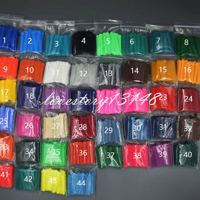1 Pack Ligature Tie 45 Colors 1008 Pcs Dental Orthodontics Elastic Latex Bands