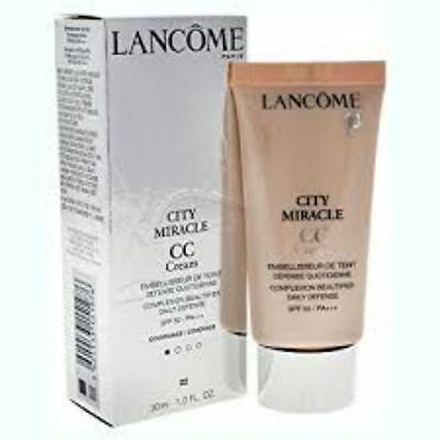 City Miracle CC Cream Makeup 30ml 02 Peau De Peche new&boxed