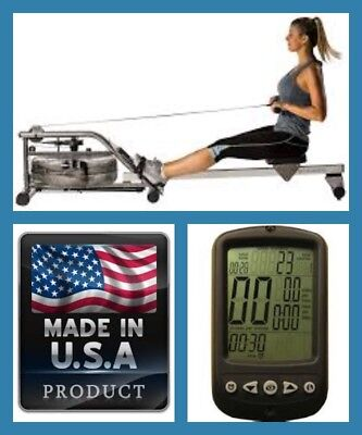 PureDesign VR-1 VIRTUS Water Resistance Rower -  Made in USA new 2017/2018 Model