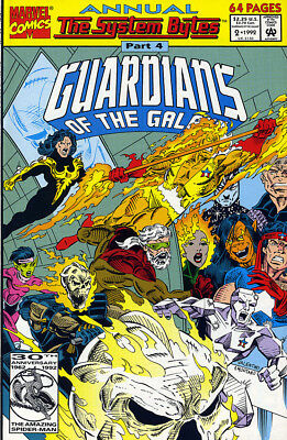 GUARDIANS OF THE GALAXY ANNUAL #2 H.Trimpe MARVEL COMICS *Ships Free w/$35 Order