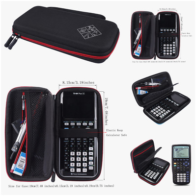 Graphing Calculator Scientific Hard Case To Texas Instruments Casio Hp SainSmart