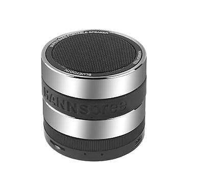 Hannspree Fortissimo Stereo 3W Cylinder Black,Grey - portable speakers (Stereo,