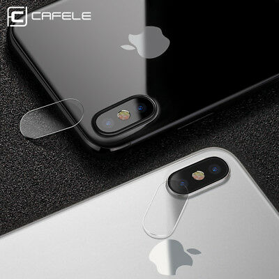 2X 100% Genuine Camera Lens Tempered Glass Screen Protector For iPhone X 10