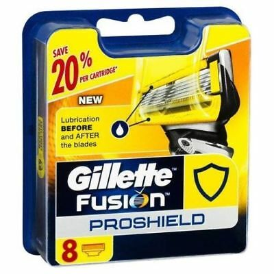 Gillette Fusion Proglide Power Razor Blades / Cartridges 8 Genuine (BNIB).
