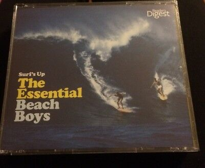 The Beach Boys Surf's Up The Essential 3 CD Readers Digest Set Brand New Sealed!
