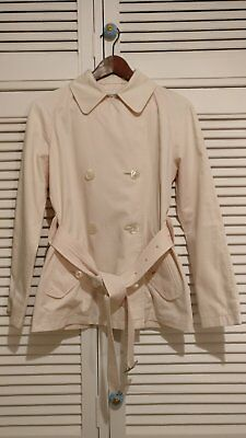 Burberry pale pink trench coat - Size AUS 8/10