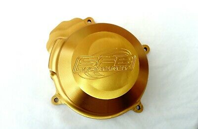KTM 250 SX (2003-2006) SFB Racing Billet Alloy Ignition Flywheel Cover in GOLD