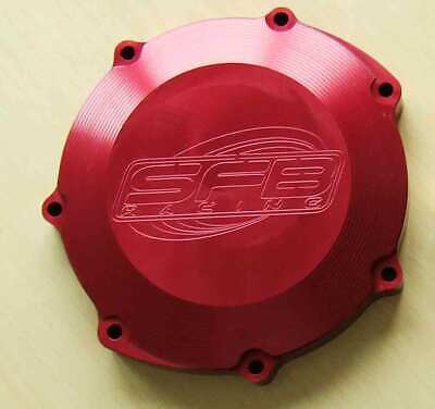 Yamaha YZF WR WRF YZ 400 5BE (1998-1999) SFB Racing Billet Clutch Cover in RED