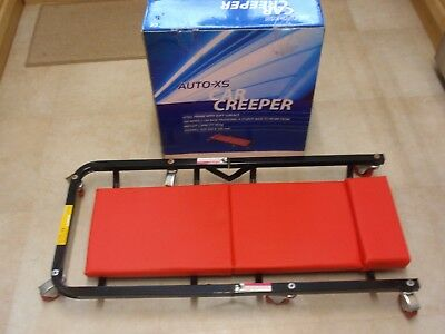 Car Creeper AutoXS Red Foldable H/DUTY 6 WHEEL - LOOKS UNUSED - BOXED