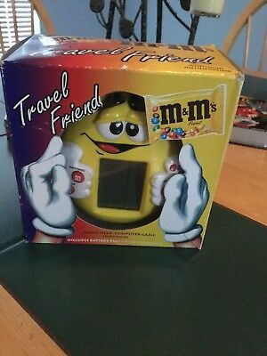 M&M travel friend hand held computer game 8 games / 13 levels new