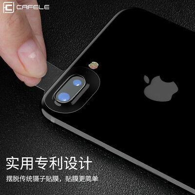 100% 2Pcs Genuine Lens Tempered Glass Film Screen Protector For iPhone 7 Plus