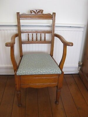 Vintage Oak?  Commode Chair
