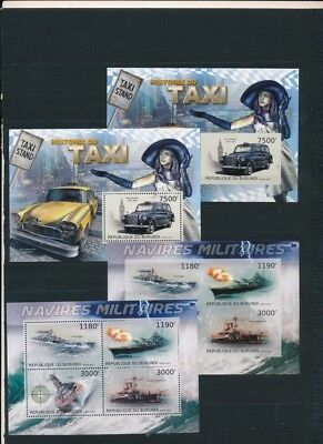 [OPG5004] Burundi topicals good lot of 48 sheets very fine MNH