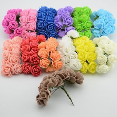 Rose Artificial Foam Flower DIY Flowesr Garland Wedding Decoration Bridal Flower