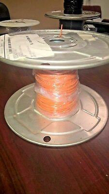 100 ft M22759/11-18-3 Silver Plated Mil-Spec Copper Teflon Wire 18 AWG ORANGE