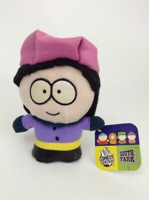 """2005 Commonwealth South Park Wendy Testaburger 7"""" Plush Stuffed Toy w/ TAGS"""