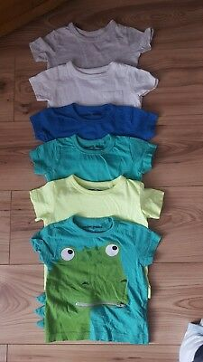Next Bundle of Boys t-shirts 3-6 months