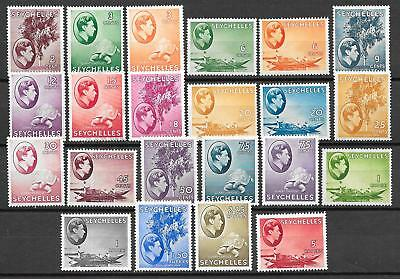 Seychelles stamps 1938 SG 135-149 without 138a+142a+144 UNG VF