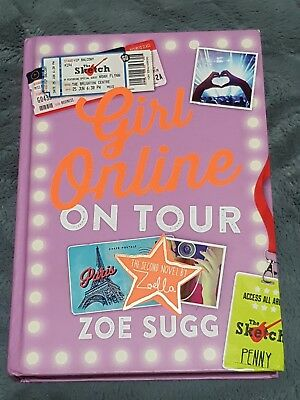 Girl Online on tour, By Zoe Sugg. HARDCOPY.