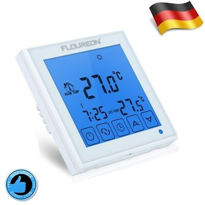 digital raumthermostat programmierbar temperaturregler aufputz z792ap eur 19 99 picclick de. Black Bedroom Furniture Sets. Home Design Ideas