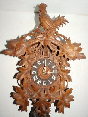 Old Cuckoo Clock 1880 - 1910 In Nice Condition