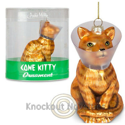 Cone Kitty Ornament Tree Collectible novelty gift