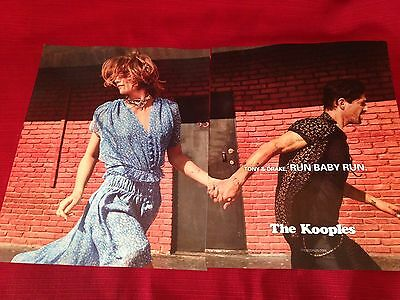 2017 The Kooples fashions print ad with Tony & Drake   Great to frame!