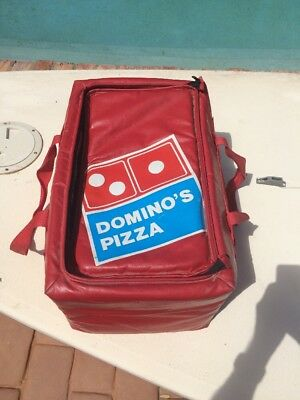 Vintage Vinyl  Insulated Thermal Domino's Pizza Delivery Bag
