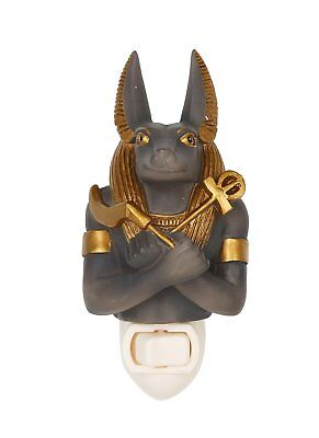 Ancient Egyptian Anubis God of the Underworld Decorative Wall Night Light Plaque