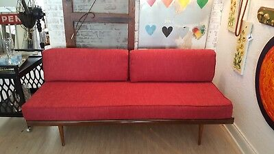 Vintage Mid Century Sofa Daybed