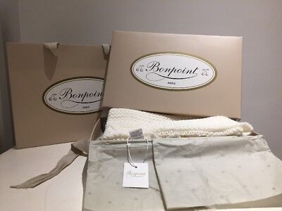 Bonpoint Baby Blanket BNWT, Box And Carry Bag
