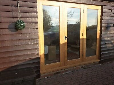 Wooden french doors double glazed 1170mm x 1990mm 90 for European french doors