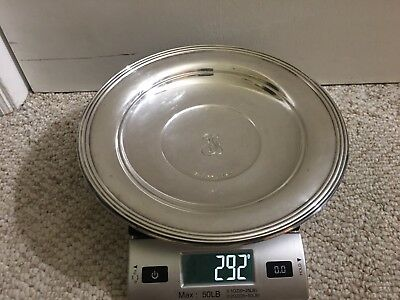 Antique/Vintage Liebs Silver Co #47 Sterling Silver 925--- Plate/Bowl 292grams