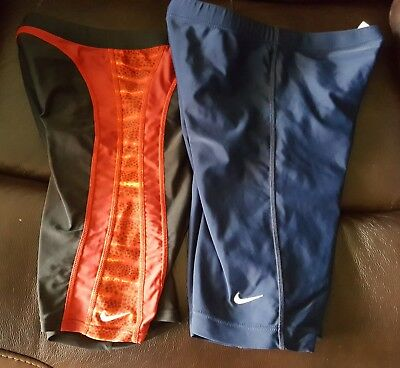 2 pair Speedo Youth Jammer Swimsuit Size 30