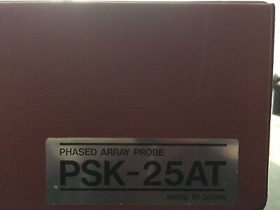 Toshiba PSK-25AT 2.5MHz Sector Transducer Ultrasound Probe for Cardiac