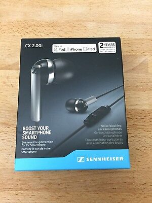 Sennheiser CX 2.00I Black In-Ear Only Headsets Best Price!!