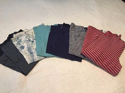 j jill lot of 6 - XL tunics - stripes and solids