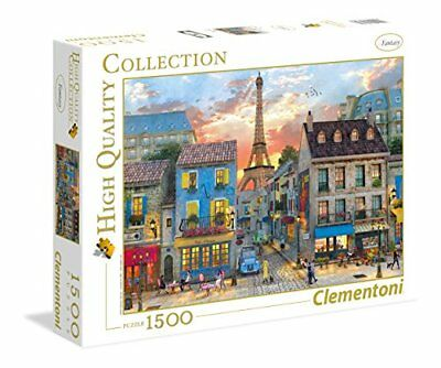 Clementoni - 31679 - High Quality Collection Puzzle - Streets of Paris - (b3s)