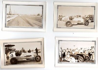 8 Vintage Race Car Original Photos 1940 S Very Good Shape Part 2 Of 4